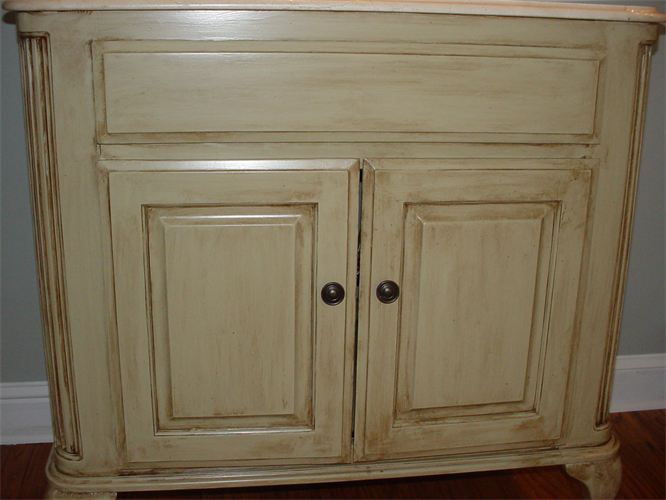 Antique Glazed Cabinets - COOK AND SONS - Furniture/Cabinets